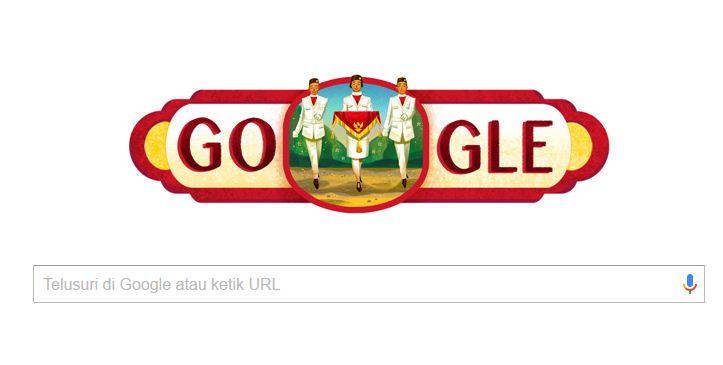Google Ikut Serta Merayakan HUT RI ke 71