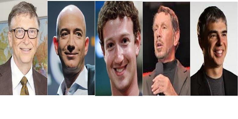 5 Pengusaha Teknologi Terkaya di dunia