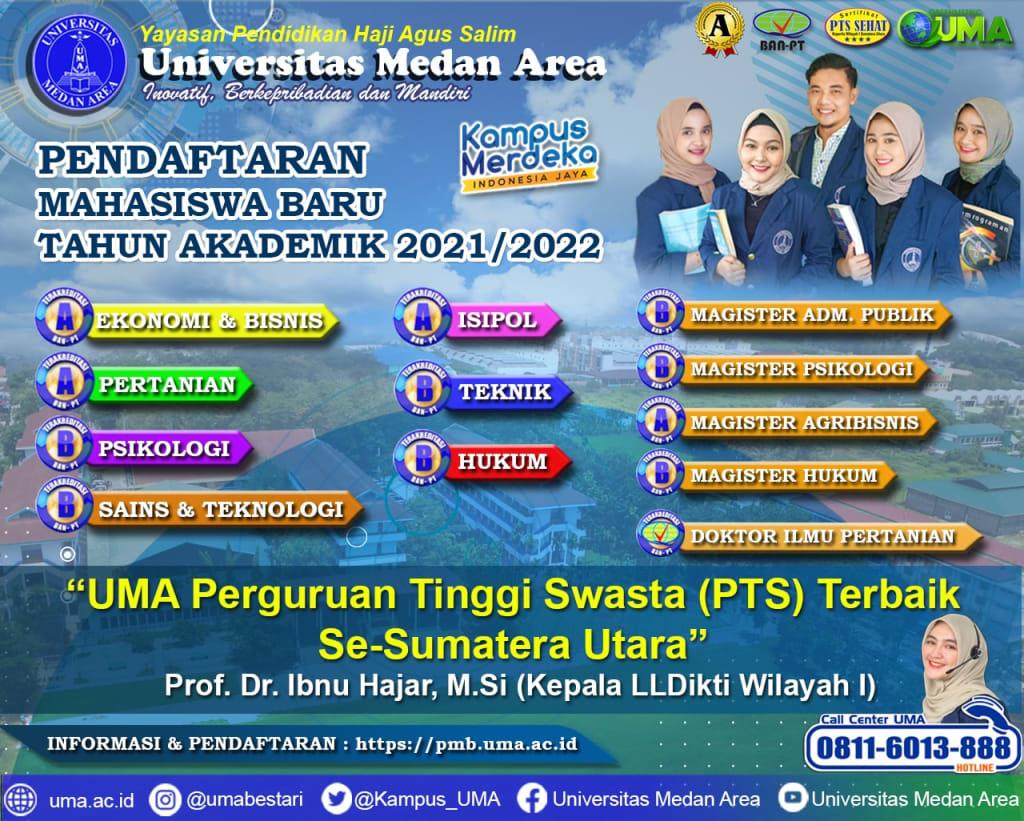 pendaftaran mahasiswa baru UMA