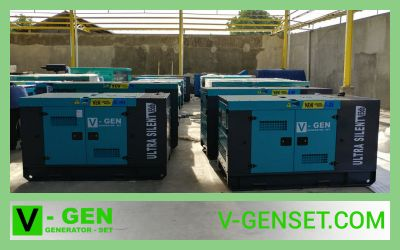 Supplier Genset Medan