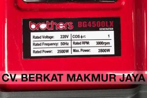 genset-brothers-BG4500LX-spec