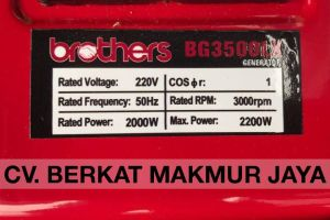 genset-brothers-BG3500LX-spec