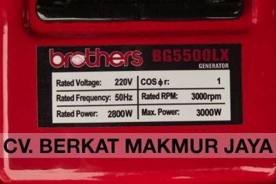 genset-brothers-BG5500LX-spec