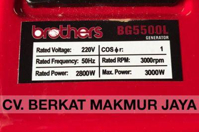 genset-brothers-BG5500L-spec