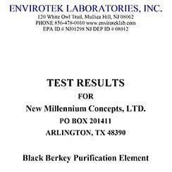 LSU Lab Test Results