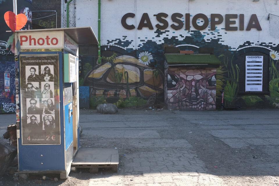 Cassiopeia Club RAW Gelände Berlin