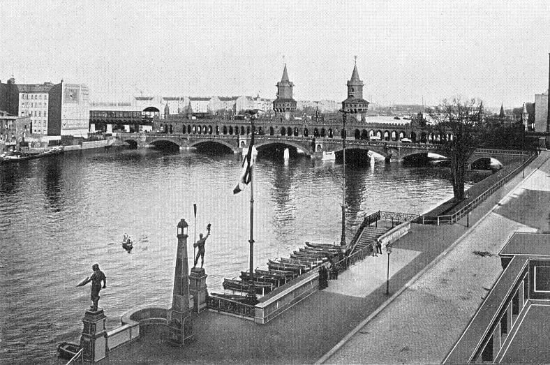 Oberbaumbrücke Berlin 1903