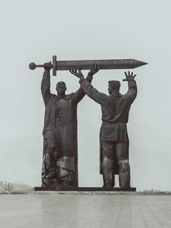 Communist statue The Rear Front