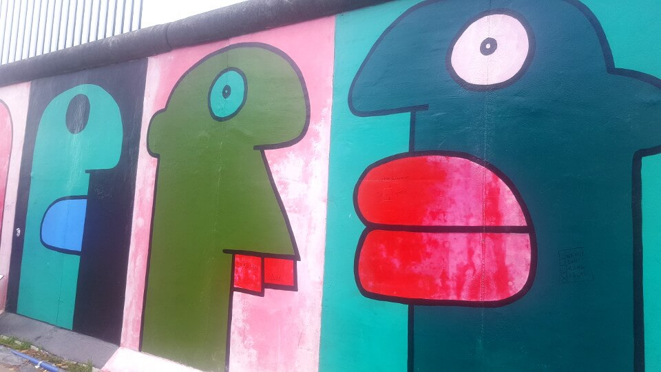 East Side Gallery Thierry Noir
