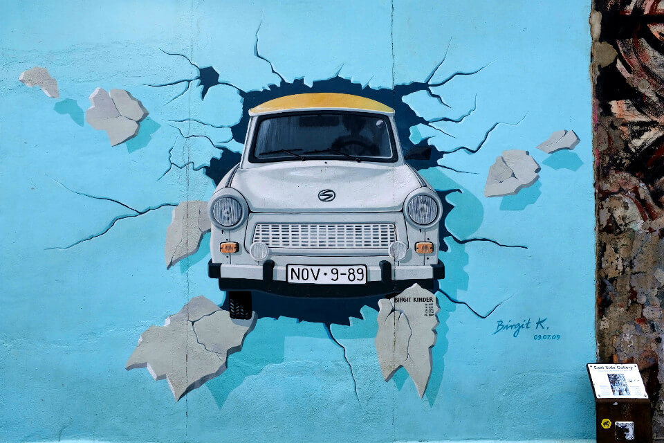 East Side Gallery Trabant