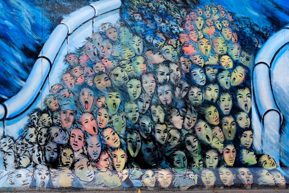 East Side Gallery Kani Alavi