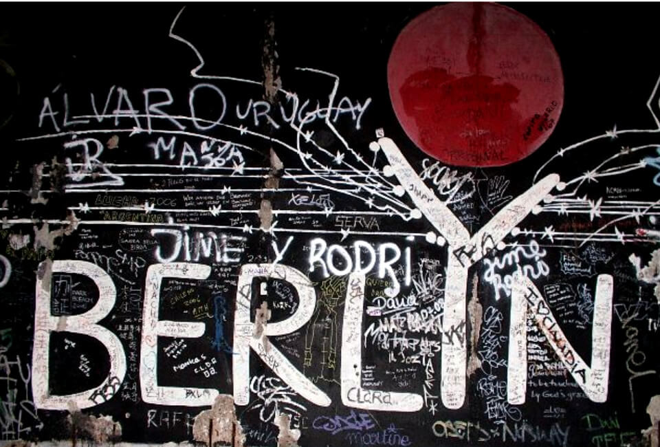 East Side Gallery Berlin Wall Berlyn