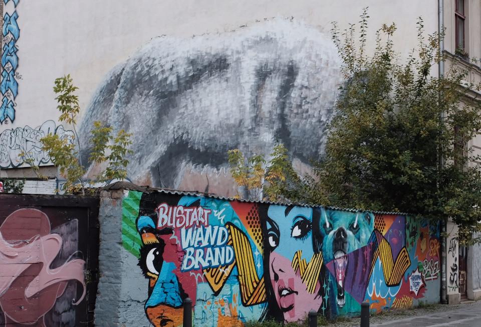 Street Art Alaniz in Prenzlauer Berg