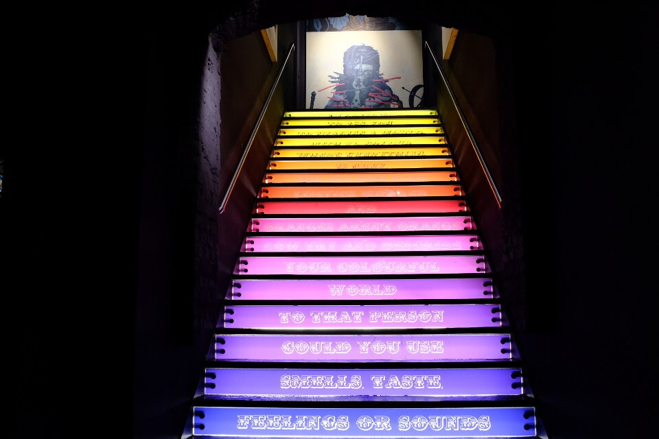 Urban Nation Museum Berlin Stairs