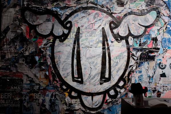 Street Art Museum Berlin dface