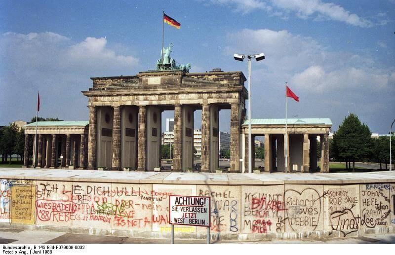 Brandenburg Gate and Berlin Wall