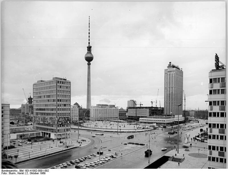 Berlin TV Tower History