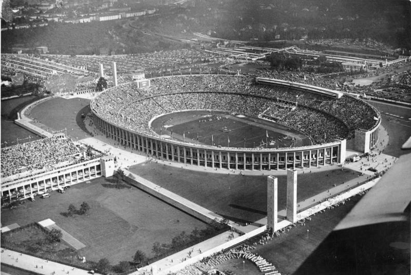 Berlin Olympic Stadium 1936