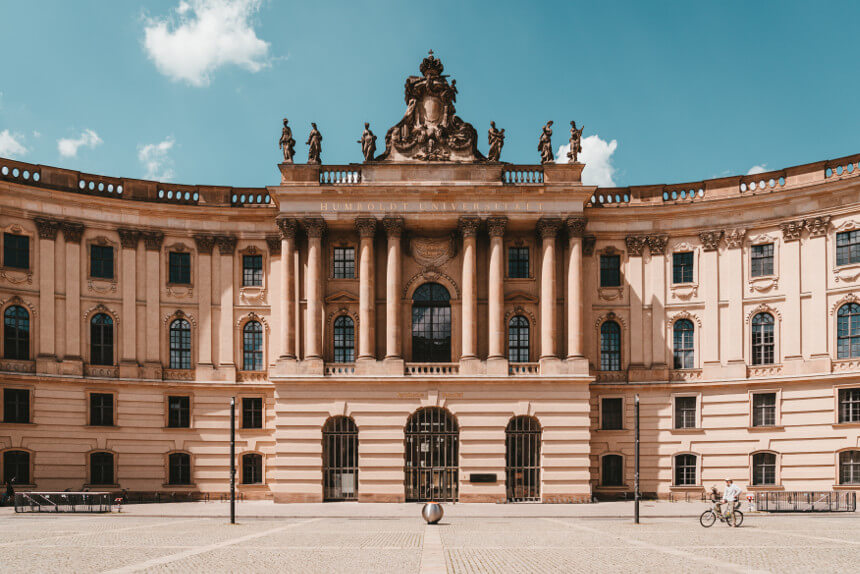 Faculty of Law  of the Humboldt University on Bebelplatz