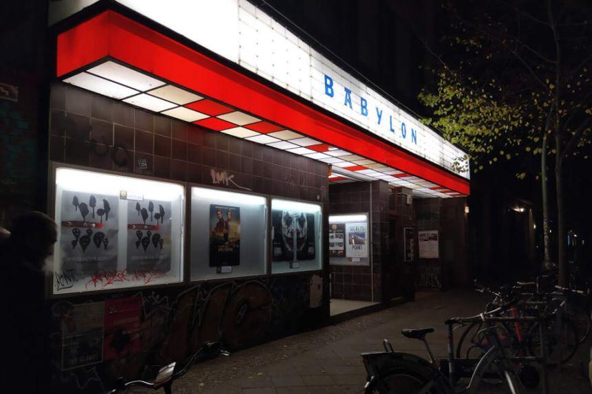 An independent Cinema in Berlin Kreuzberg : Babylon