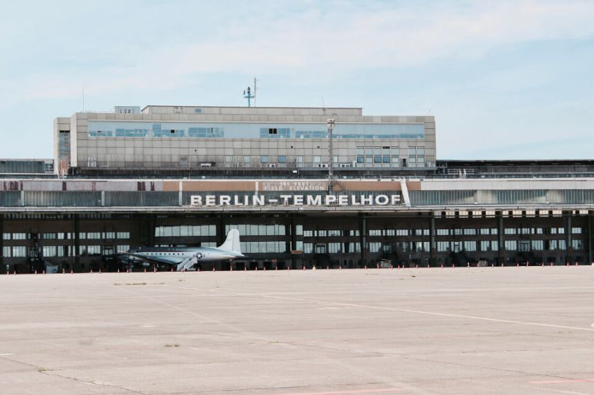 Berlin Tempelhof Airport and Park: History & Tour