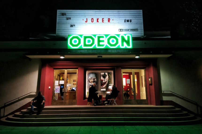 An independent cinema in Berlin Schöneberg: Odeon