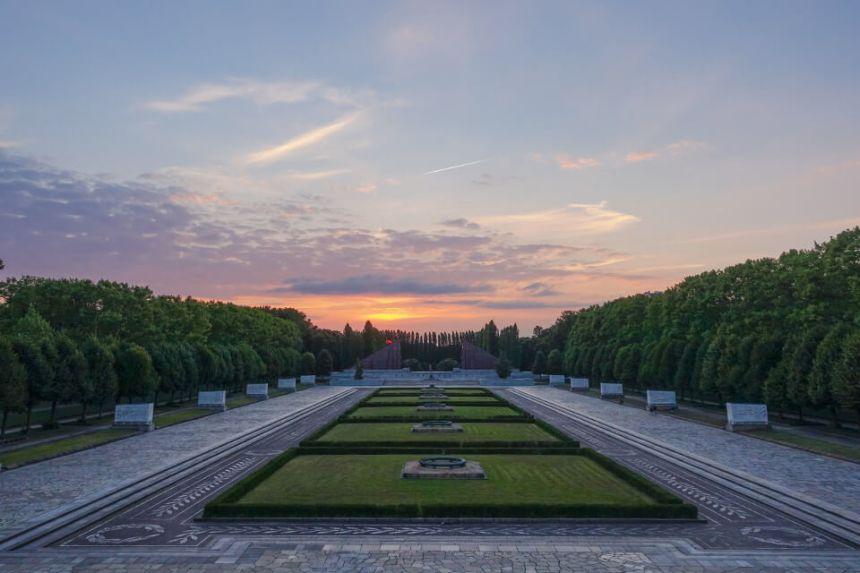 Soviet War Memorial in Berlin Treptower Park