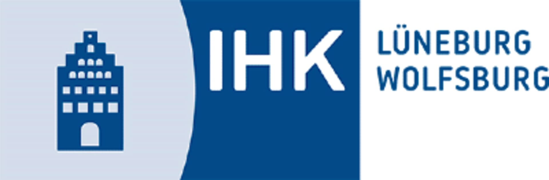 shows the logo from the company Industrie- und Handelskammer Lüneburg-Wolfsburg (IHK)