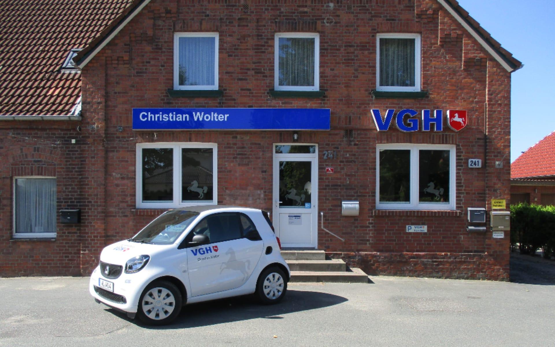 Standort Agentur Christian Wolter VGH Versicherungen