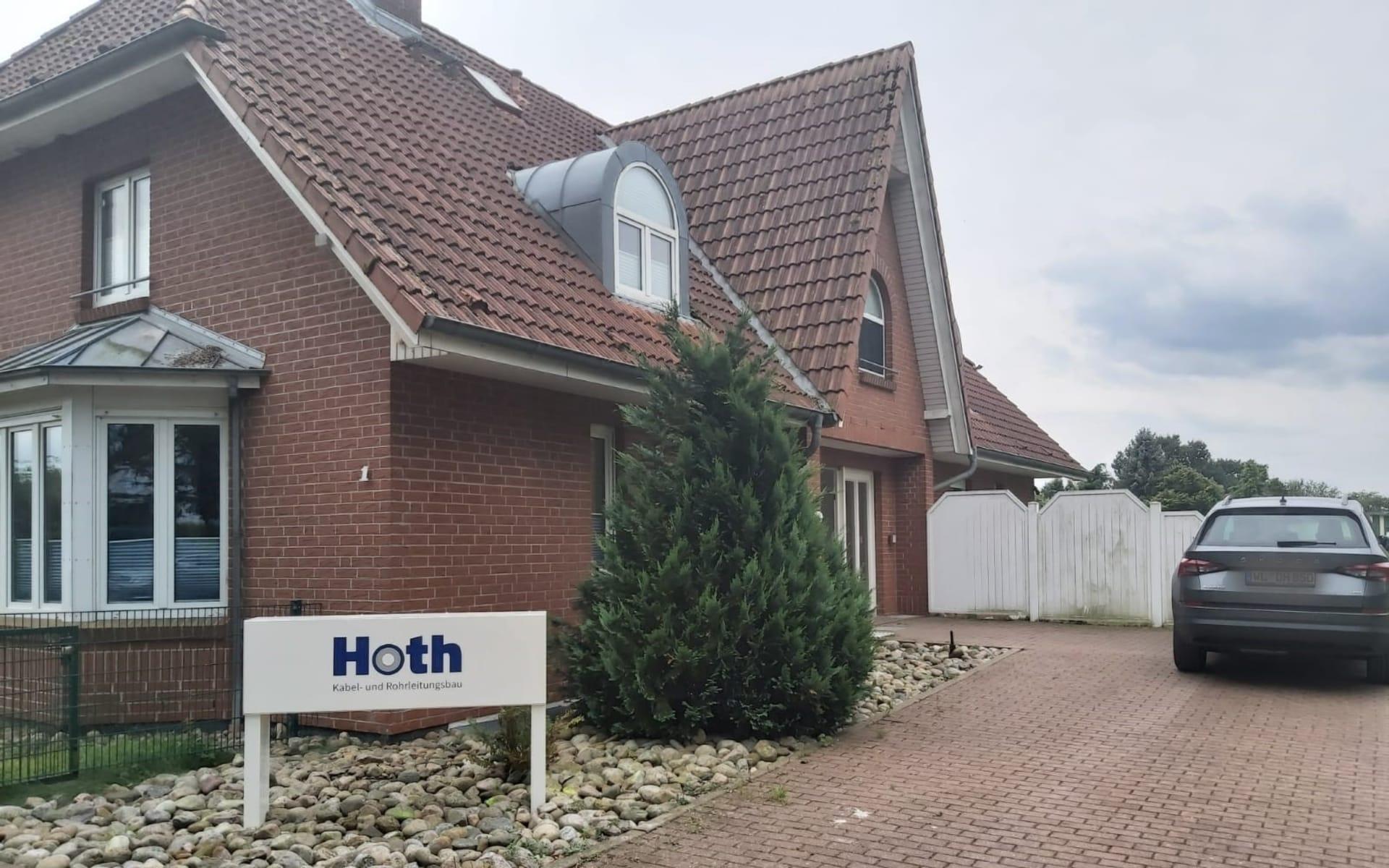 Standort  Hoth Tiefbau - Kabel und Rohrleitungsbau