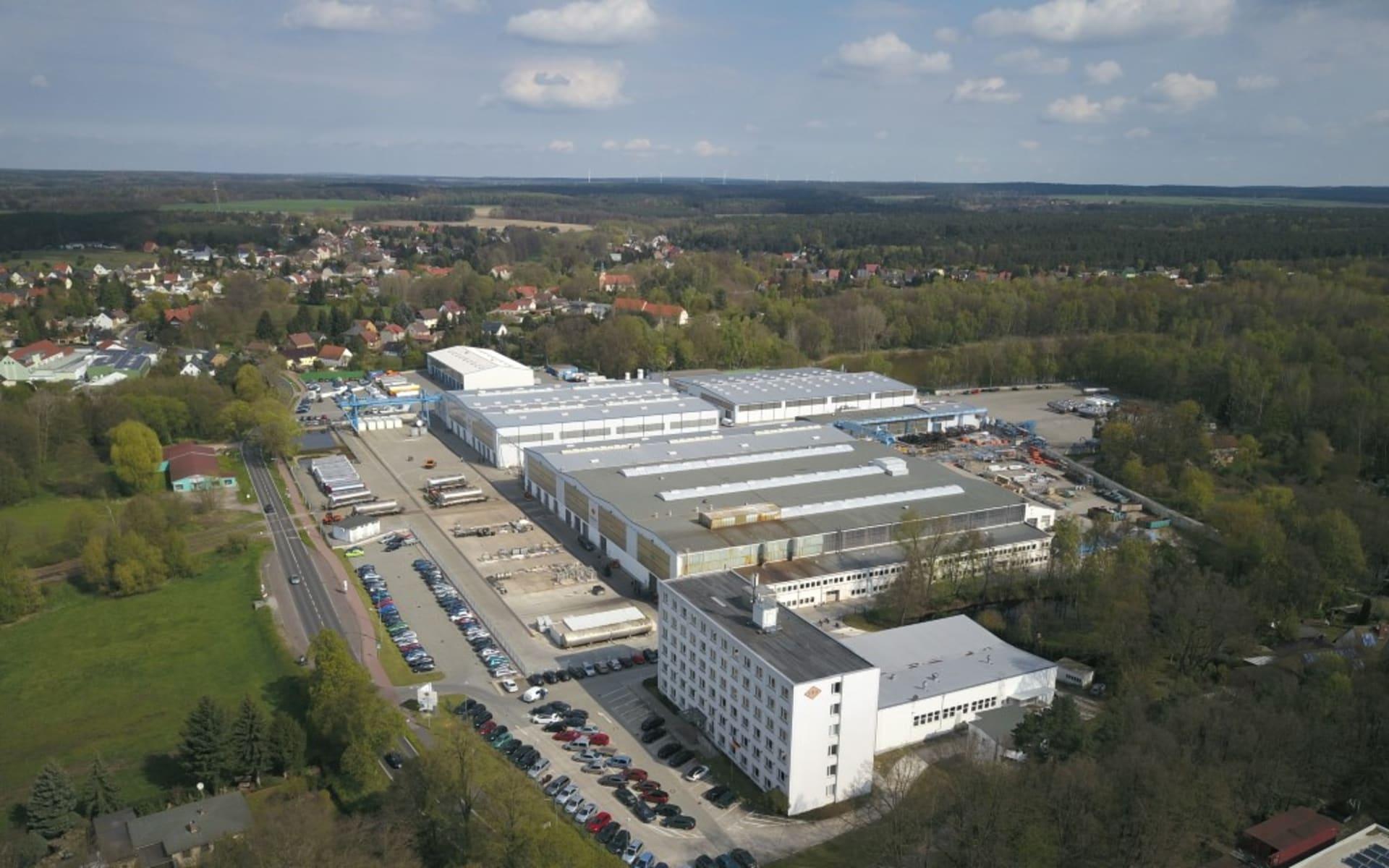 Standort Lutherstadt Wittenberg Feldbinder Spezialfahrzeugwerke GmbH