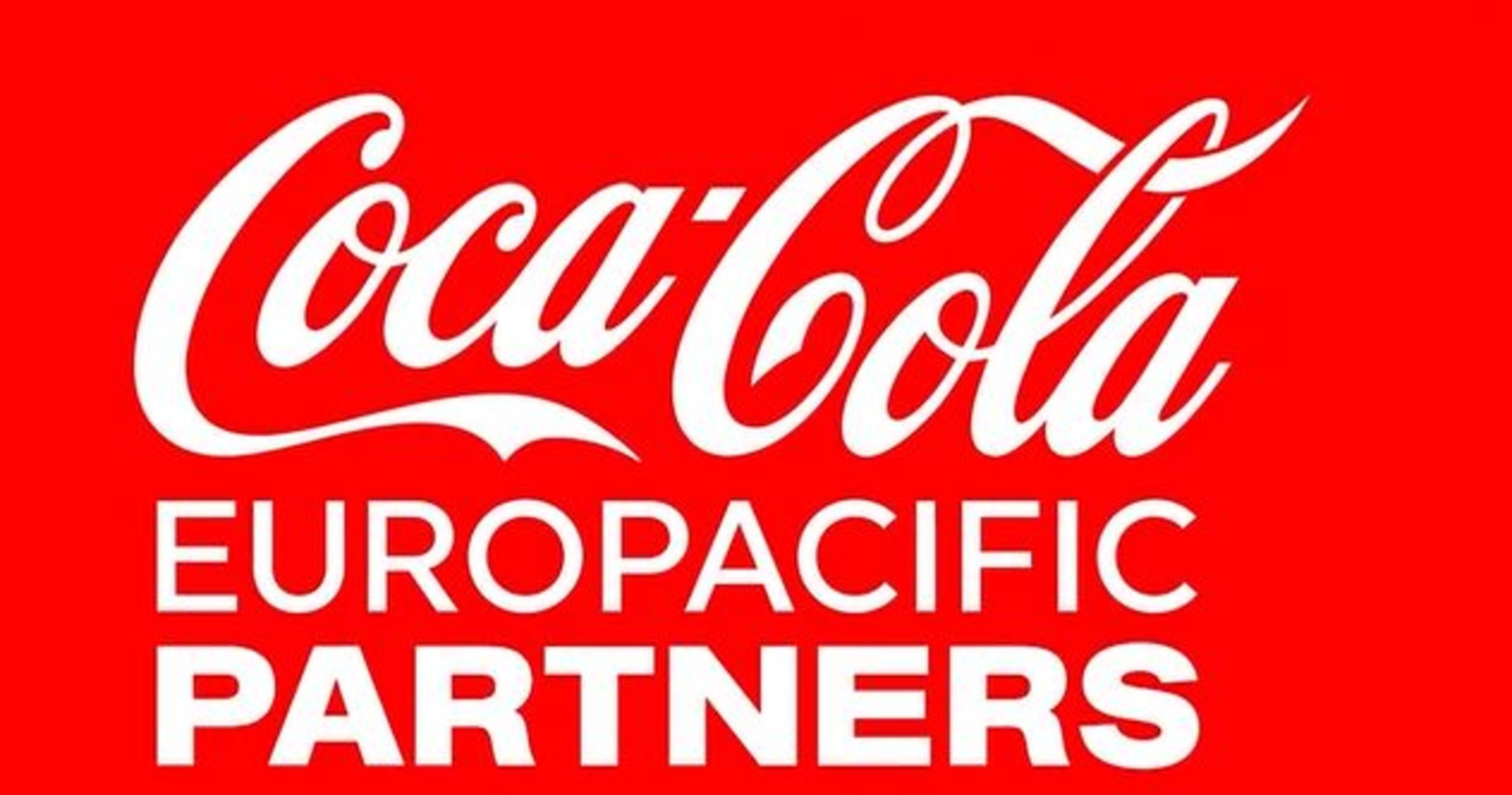 logo Coca-Cola Europacific Partners
