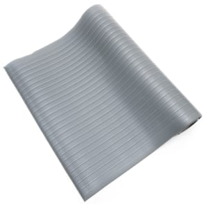 gray anti fatigue mat ribbed