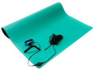 green esd soldering mat kit