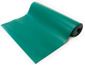 green esd high temperature mat