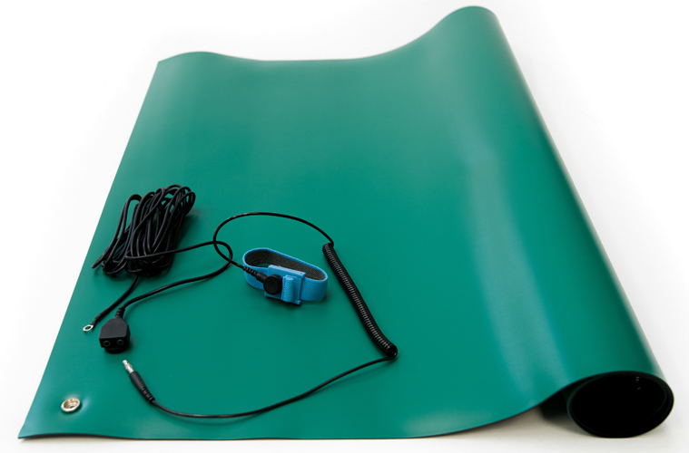 esd green soldering mat kit