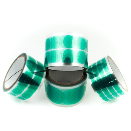 green masking discs