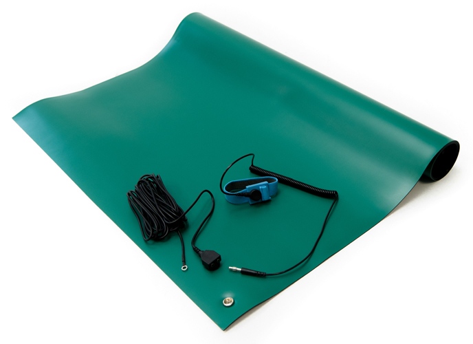 green esd soldering mat kit