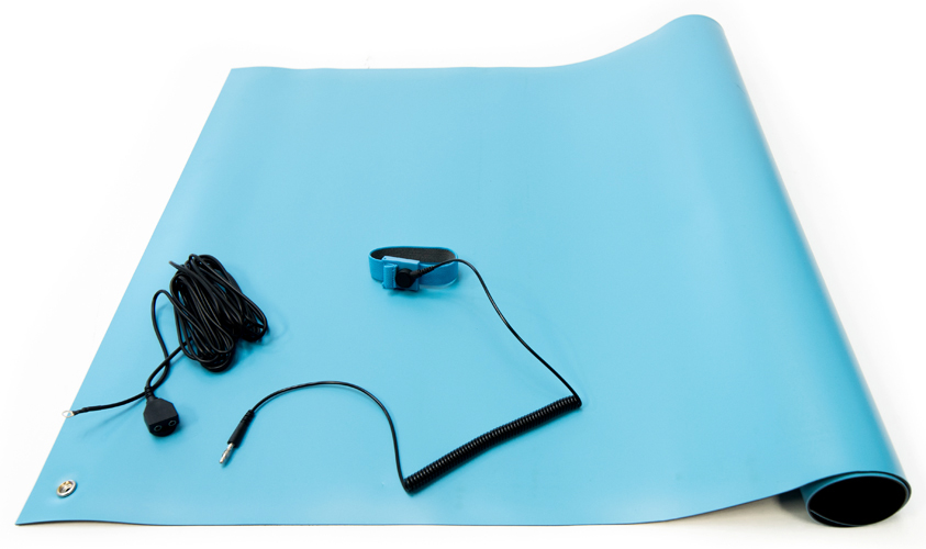 blue esd high temperature mat kit