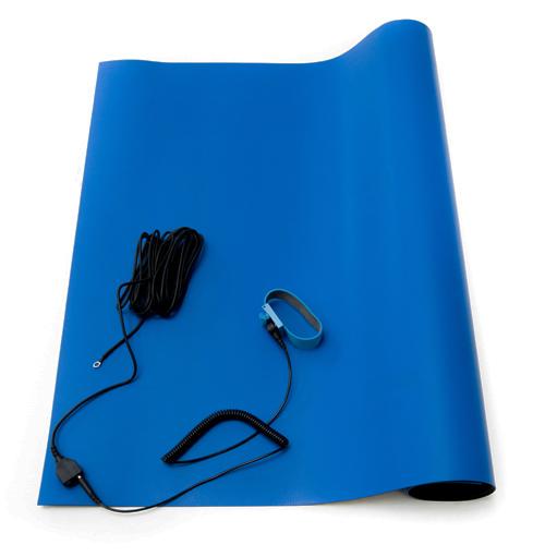 esd high temperature mat kit usa blue