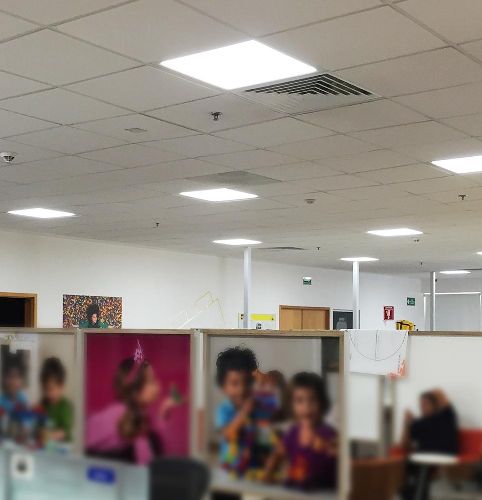 LEGO lighting installations