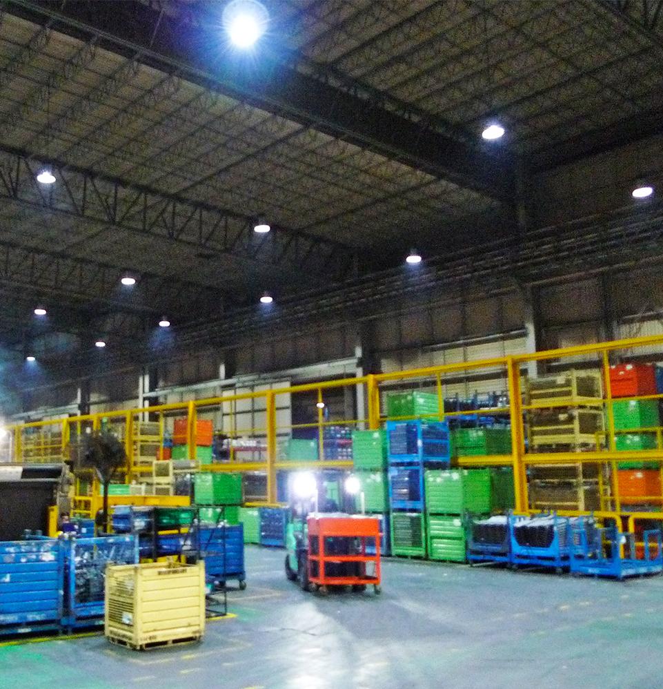 Metalsa Apodaca lighting installations