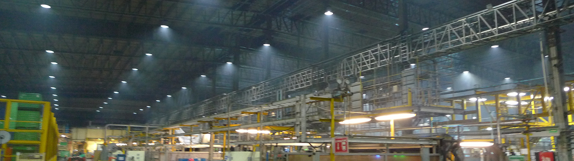 Metalsa Saltillo lighting installations