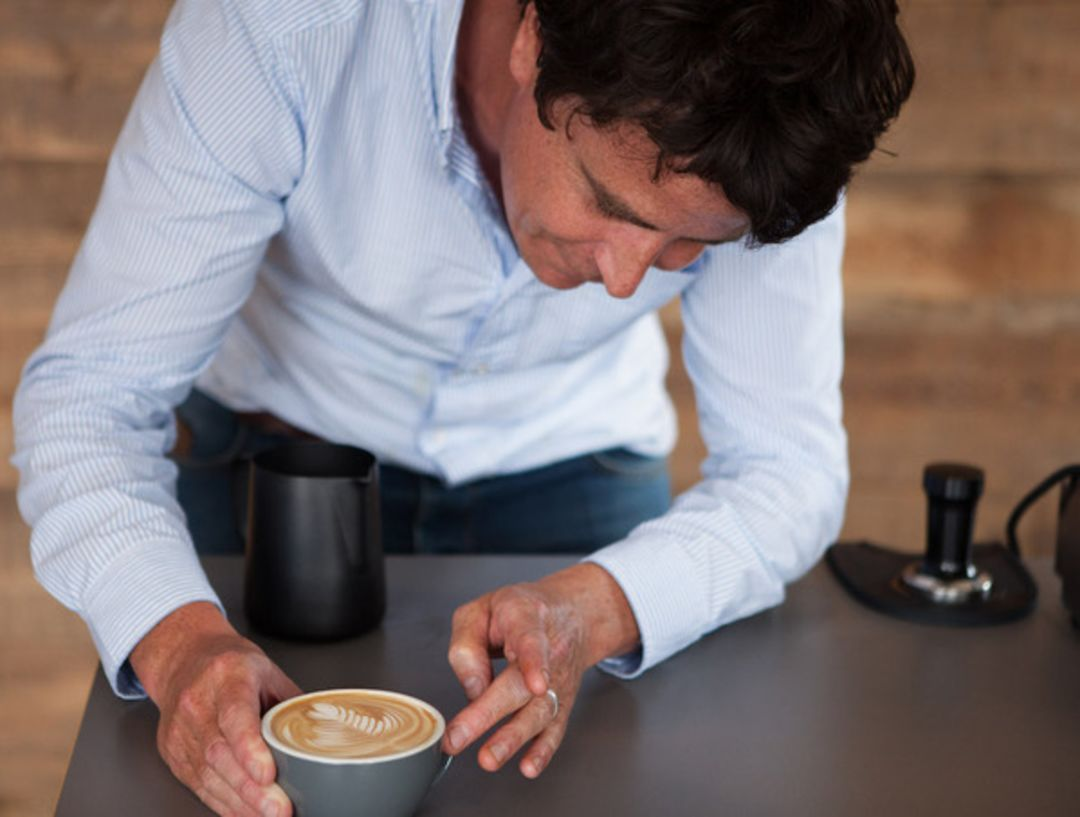 Coffee and Interview with Tom Sobey of Origin Coffee Roasters