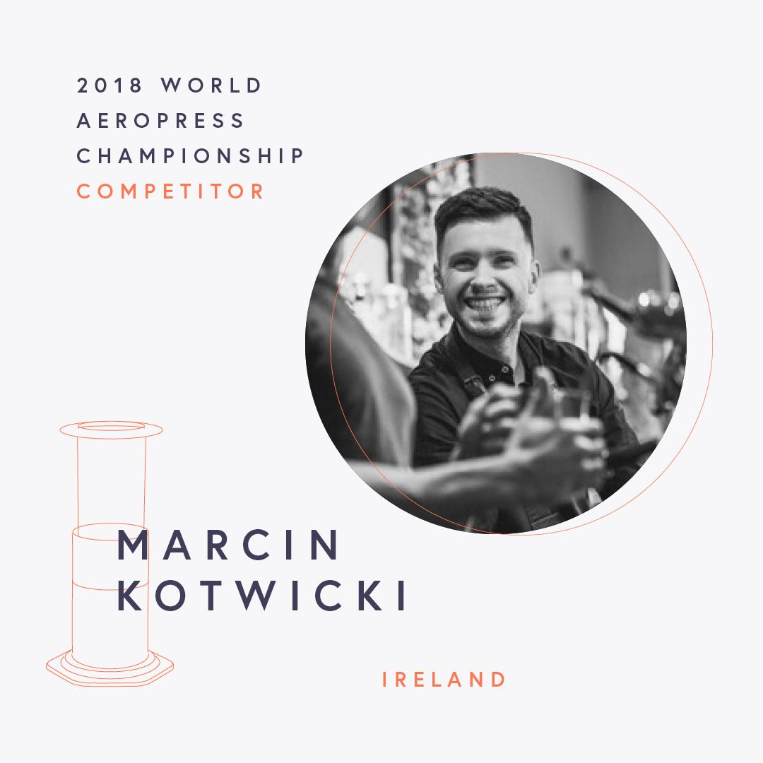 The World AeroPress Championships: Marcin Kotwicki