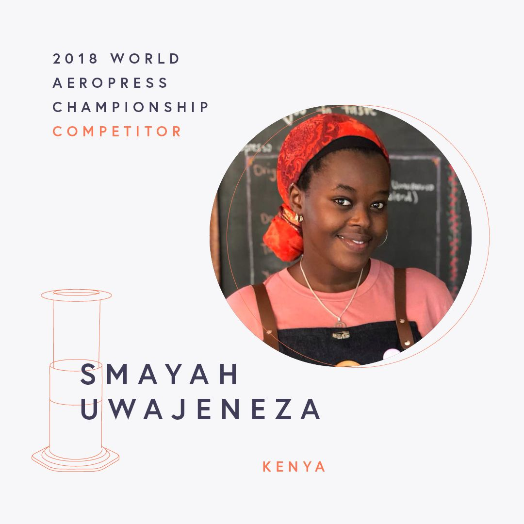 The World AeroPress Championships: Smayah Uwajeneza