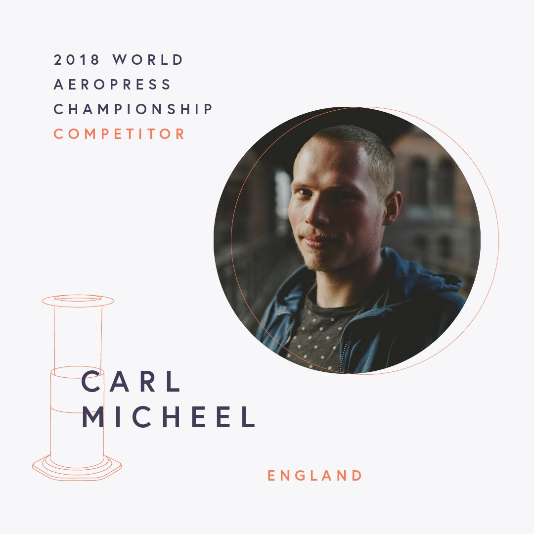 The World AeroPress Championships: Carl Micheel