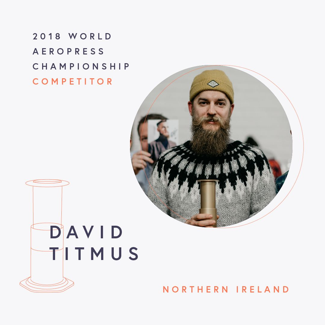 The World AeroPress Championships: David Titmus