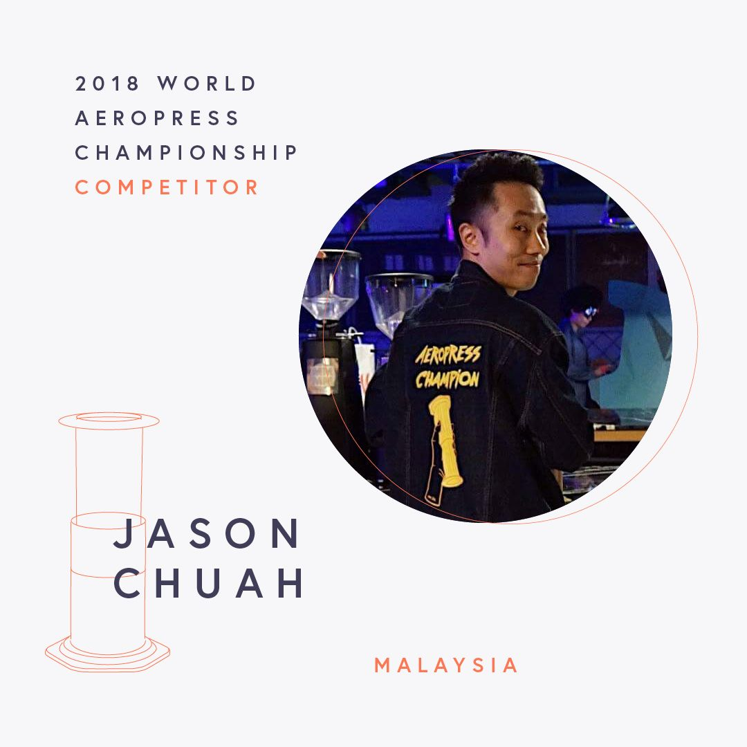 The World AeroPress Championships: Jason Chuah