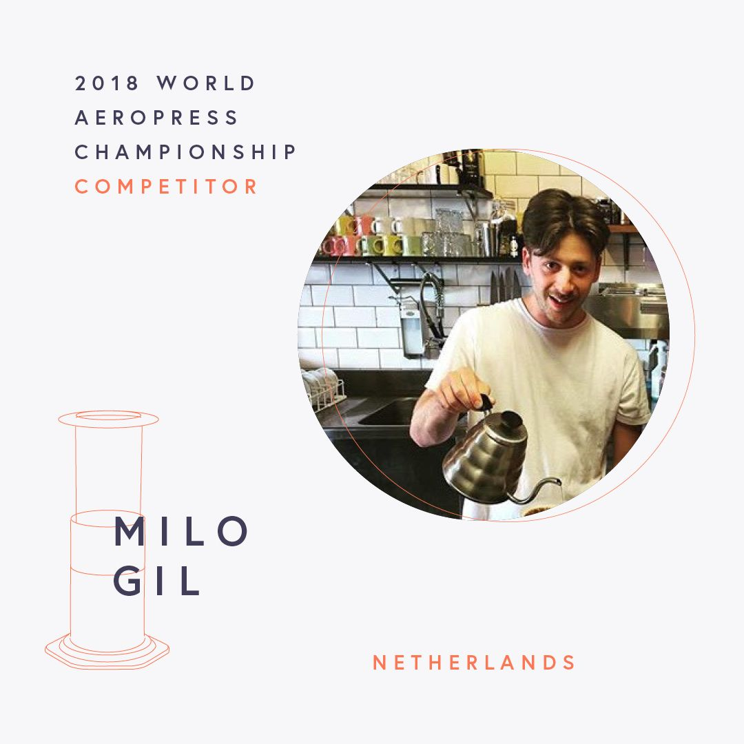 The World AeroPress Championships: Milo Gil